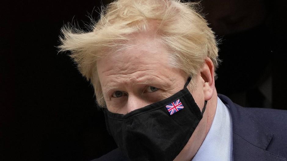 Boris Johnson, Premierminister von Großbritannien, das den Vorsitz der G7 innehat