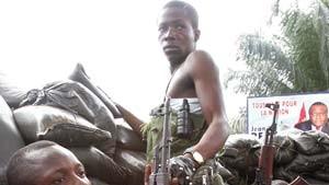 Bembas Soldaten verlassen Kinshasa