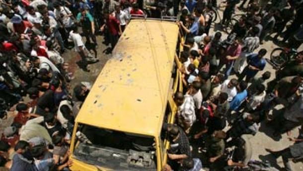 Neun Tote bei israelischem Luftangriff