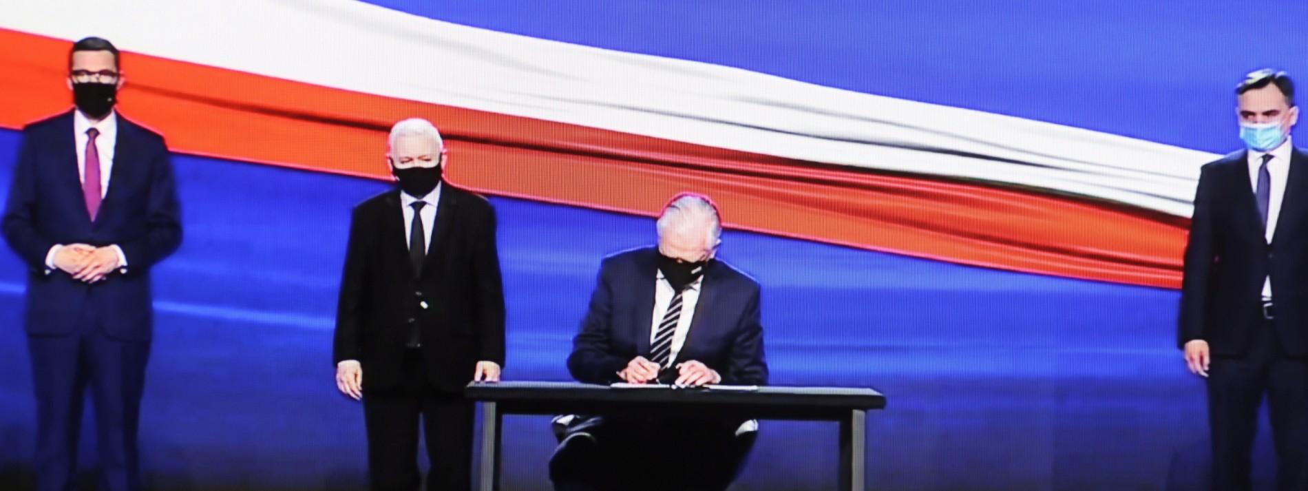 Warschaus Programm der Superlative ist in Gefahr