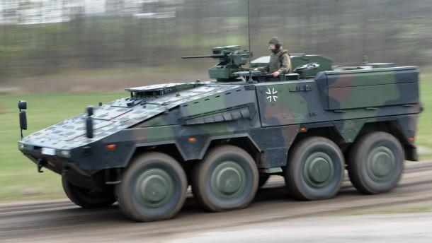 Bundeswehr will mehr Radpanzer kaufen