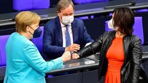 Union klar vor Grünen