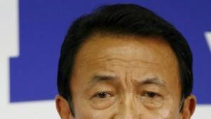 Japan wählt Taro Aso zum neuen Premier