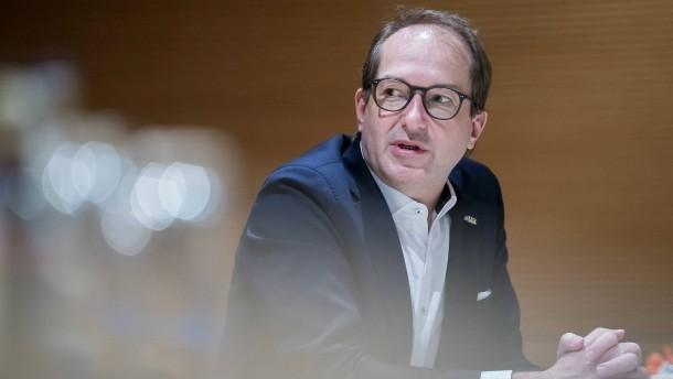 Dobrindt für Kür des Kanzlerkandidaten nach März-Landtagswahlen