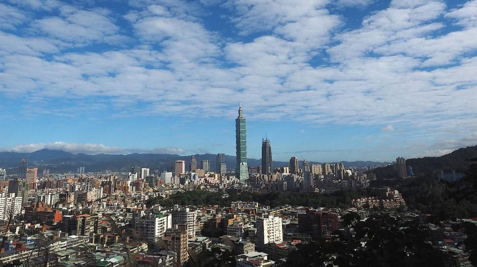 Taiwans Hauptstadt Taipeh