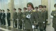 Nach den Gedenkfeiern für den Staatsgründer Kim Il Sung hat Nordkorea seinen Ton gegen Südkorea wieder verschärft.