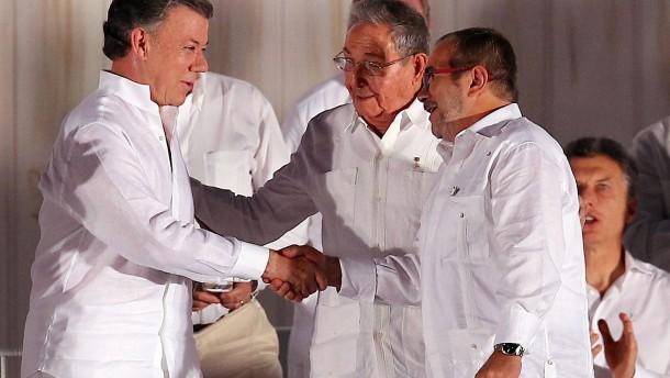 Fragiler Friede in Kolumbien