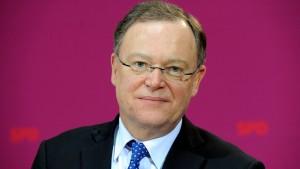 Stephan Weil, ein freundlicher Zahlenfürst