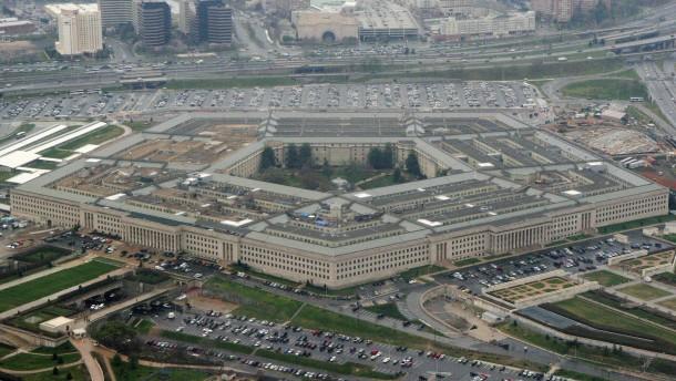 Das Pentagon hat offenbar noch keinen Auftrag erhalten