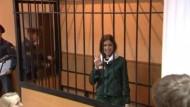 Pussy-Riot-Mitglied in Haftkrankenhaus