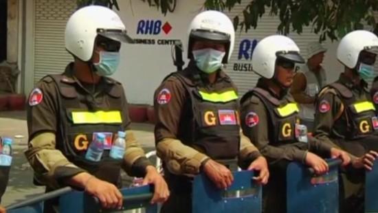 Protestlager in Kambodscha nach Zusammenstößen geräumt