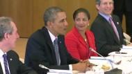Obama wirbt für das Freihandelsabkommen TTIP