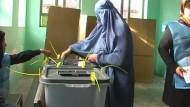 Afghanistan wählt einen neuen Präsidenten