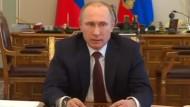 Putin sichert europäischen Gaskunden Vertragstreue zu