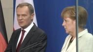 Merkel regt weitere Sanktionen gegen Russland an