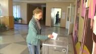 Teile der Ostukraine stimmen über Eigenständigkeit ab