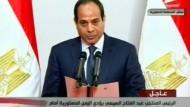 Al Sisi als neuer ägyptischer Präsident vereidigt