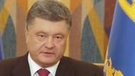 Poroschenko erklärt die Waffenruhe für beendet