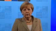 Merkel will politische Lösung in der Ukraine