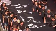 Wieder Proteste gegen China