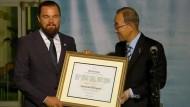 DiCaprio trifft Ban Ki-Moon