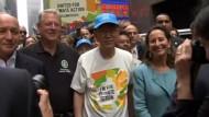 Hunderttausende fordern besseren Klimaschutz