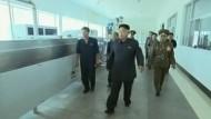 Kim Jong-un ist offenbar krank