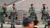 China warnt Ausland vor Einmischung