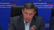 Rebellenführer siegt bei Wahl in Ostukraine