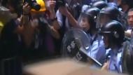 Polizei räumt Protestlager in Hongkong
