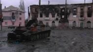 Rebellen nehmen offenbar Stadt in Ostukraine ein