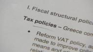 Griechische Reformliste hinterlässt positiven Eindruck