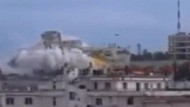 Fliegt hier ein syrisches Geheimdienstgebäude in die Luft?