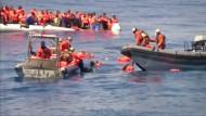 4000 Menschen aus Mittelmeer gerettet