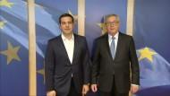 Ringen um Griechenland-Hilfen geht weiter