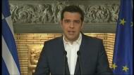 Tsipras kündigt Referendum zu Reformen an