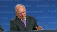 Schäuble: Griechenland wird akute Schwierigkeiten bekommen