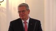 "Gauck nennt Angriffe auf Flüchtlingsheime ""widerwärtig"""