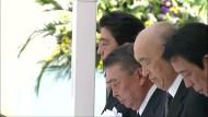 Japan gedenkt Atombombenabwurfs über Nagasaki