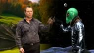 Wahlkampf mit Drachen und Alien