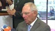 Schäuble bekundet Zuversicht