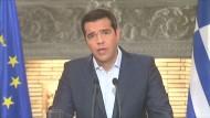 Tsipras tritt zurück