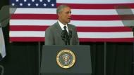 Obama lobt Wiederaufbau