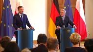 Gauck fordert Engagement aller EU-Länder