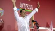 Syriza von Alexis Tsipras feiert deutlichen Wahlsieg