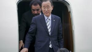 UN-Generalsekretär Ban in Pakistan eingetroffen