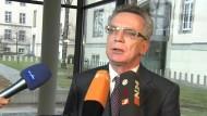 De Maizière fordert mehr Unterstützung für Sicherheitsbehörden