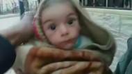 Tausende Menschen hungern in Madaja in Syrien
