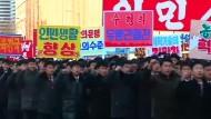 Tausende huldigen Kim Jong-un