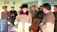 Nordkorea soll Antrieb für Interkontinental-Raketen getestet haben